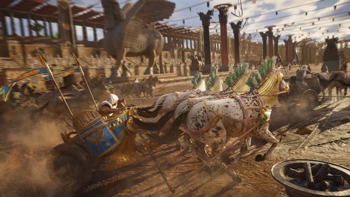 Assassin's Creed Origins в разрешение 4K