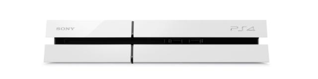 Sony показала белую консль PlayStation 4