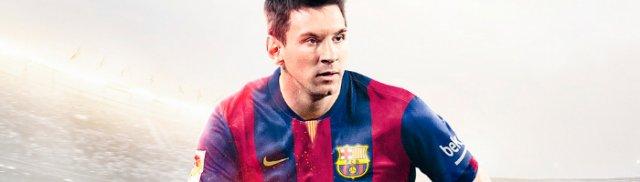 На обложке FIFA 15 вновь появится Лионель Месси