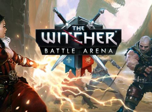 The Witcher Battle Arena. Первое игровое видео