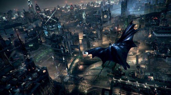 Batman: Arkham Knigh- окружение в помощь.