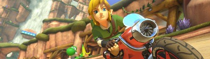 В новом DLC для Mario Kart 8 появится герои игры The Legend of Zelda