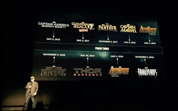 Пресс-конференция Marvel Studios.