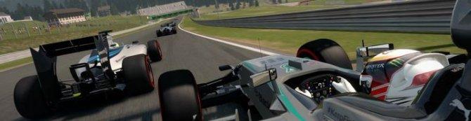Новый трейлер игры F1 2014