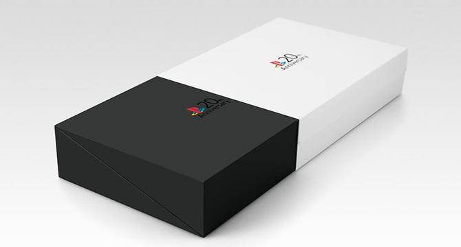 Видео Limited edition PS4 в стиле первой PlayStation