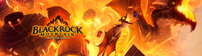Blizzard анонсировала The Blackrock Mountain Adventure pack для Hearthstone
