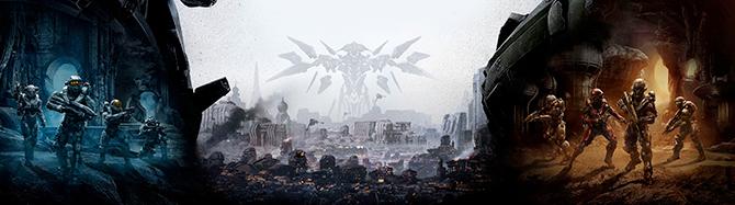 На обложке Halo 5: Guardians нарисовали ключевых персонажей игры