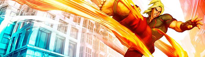 Новый геймплей Street Fighter 5 - Мастер Кен возвращается но уже в другом обличие