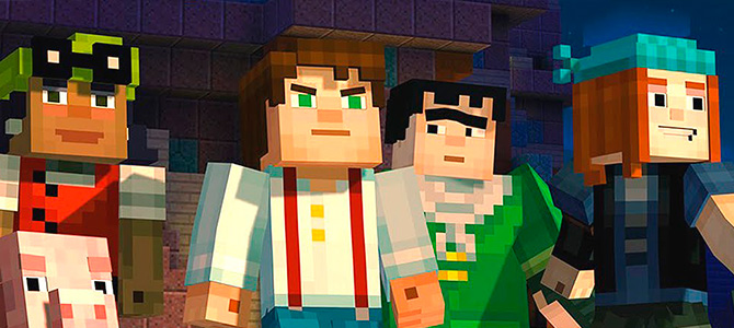 Telltale Games проведет онлайн трансляцию Minecraft: Story Mode