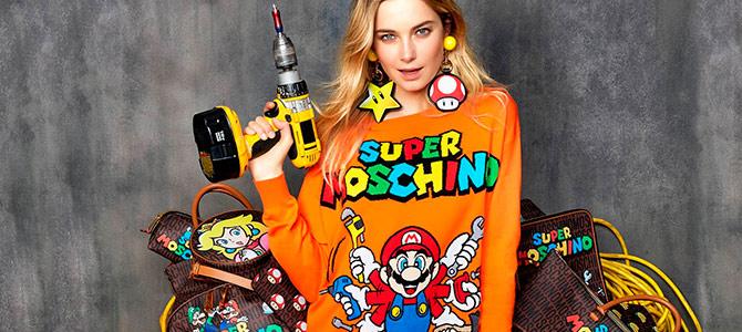 Super Moschino - брендовая одежда для сантехнка Луиджи
