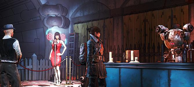 Мод превращает графику Fallout 4 в мультяшную из серии Borderlands