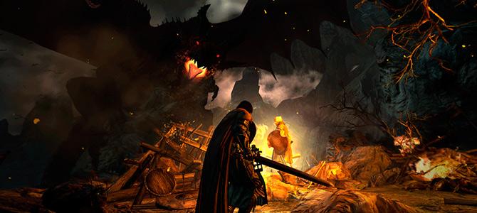 Capcom выпустили релизный трейлер Dragon's Dogma: Dark Arisen. Игра вышла в Steam