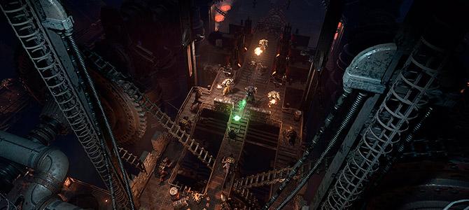Новые скриншоты Space Hulk: Deathwing показали насколько будут большими локации в игре