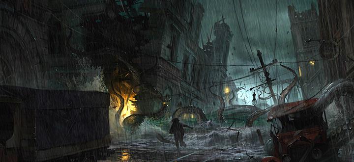 Разработчиков игр про Шерлока Холмса представили свой новый проект  The Sinking City