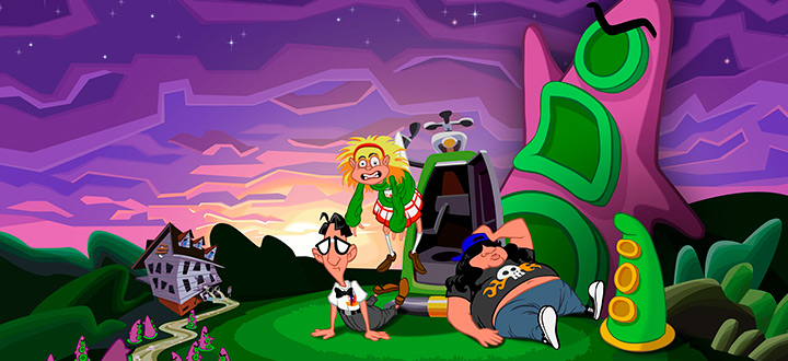 Объявлена дата релиза Day of the Tentacle Remastered на PC
