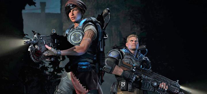 Новые крутые арты Gear of War 4 и дата релиза игры