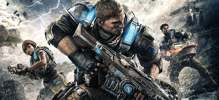 Gears of War 4 - геймплейное видео бета-версии игры