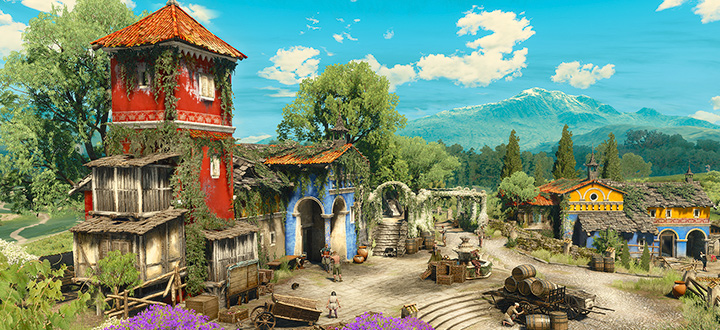 Новые арты дополнения The Witcher 3: Blood and Wine и дата релиза