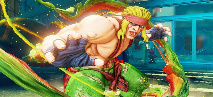 Новый персонаж Street Fighter V- ALEX получает официальное видео руководство