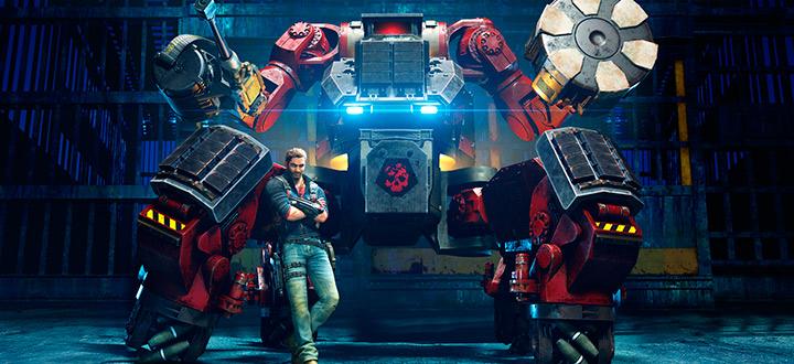 Огромные механические гиганты в новом дополнение The Mech Land Assault для Just Cause 3