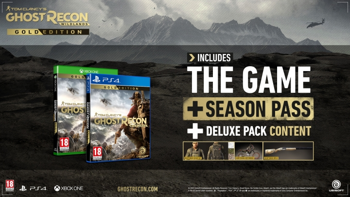 Tom Clancy's Ghost Recon: Wildlands - The Gold Edition