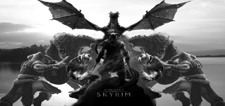 Возможность навалять драконам в ремастере Skyrim.