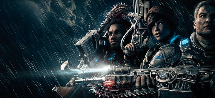 Gears of War 4 «BETA версия»  VS Gears of War 4 «Сегодня»