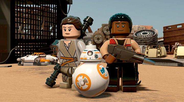 LEGO Star Wars: The Force Awakens - 11 минут геймплея