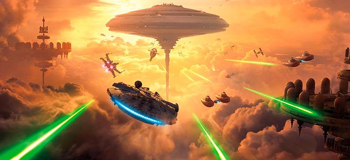 DICE анонсировали новое дополнение «Беспин» для Star Wars: Battlefront