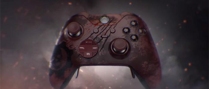 E3 2016: Microsoft показали стилизованный контроллер Xbox Elite по Gears of War 4