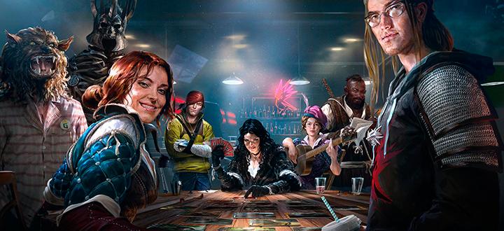 Gwen: The Witcher Card Game - первый трейлер и скриншоты игры