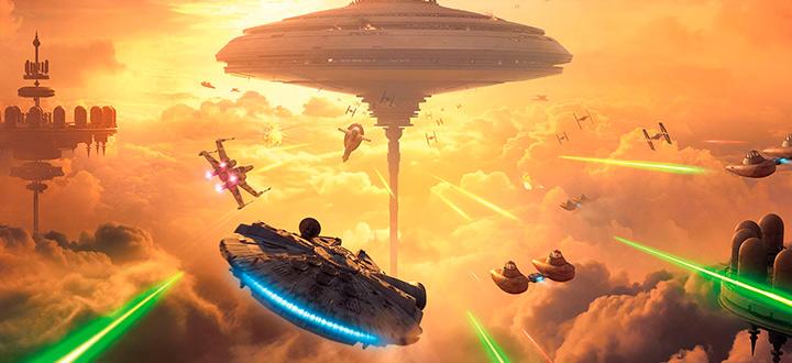 Для Star Wars: Battlefront вышло новое дополнение Bespin