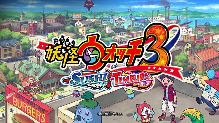 Yo-kai Watch 3 - третий трейлер игры