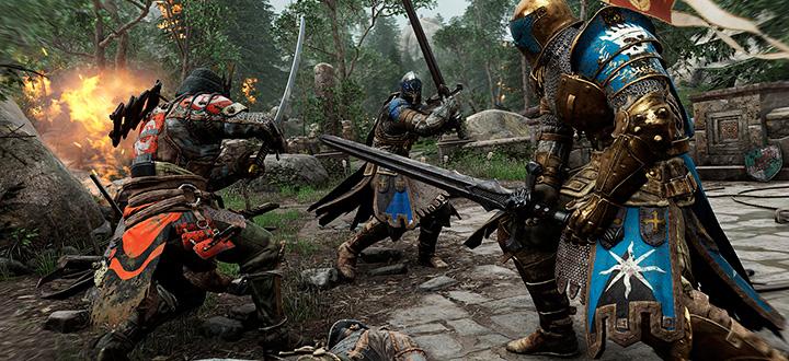 Новый геймплей For Honor показал бои за рыцаря