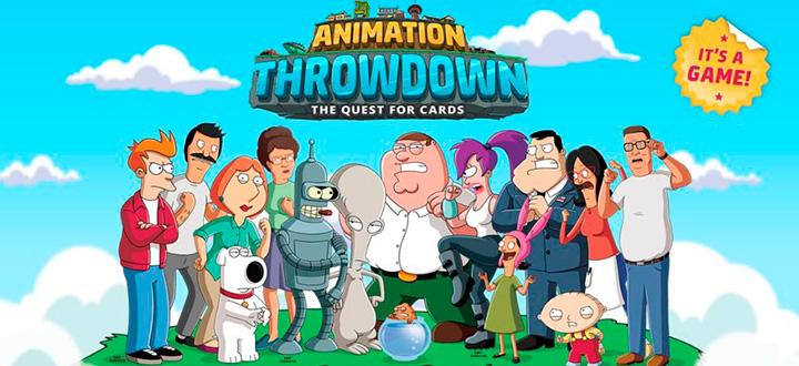 По персонажам мультфильмов FOX выйдет мобильная карточная игра. Анонсирована Animation Throwdown: The Quest for Cards