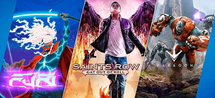 Помимо бесплатных игр в июле подписчики PS Plus получат набор основателя Paragon бесплатно