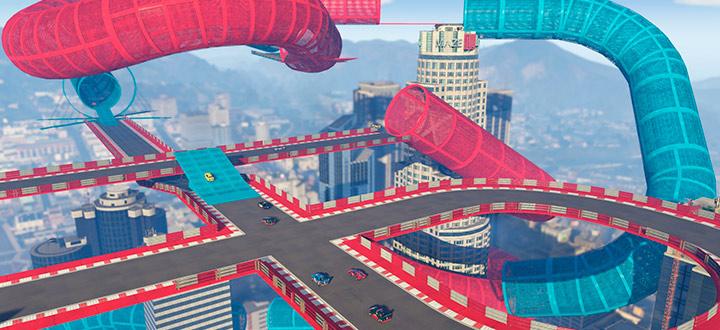 Для GTA Online вышло новое DLC «Лихачи и трюкачи»