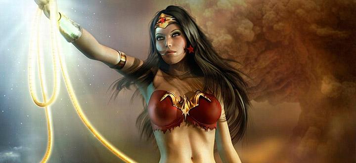 Comic-Con 2016: Чудо-женщина и Синий Жук станут игровыми персонажами в Injustice 2