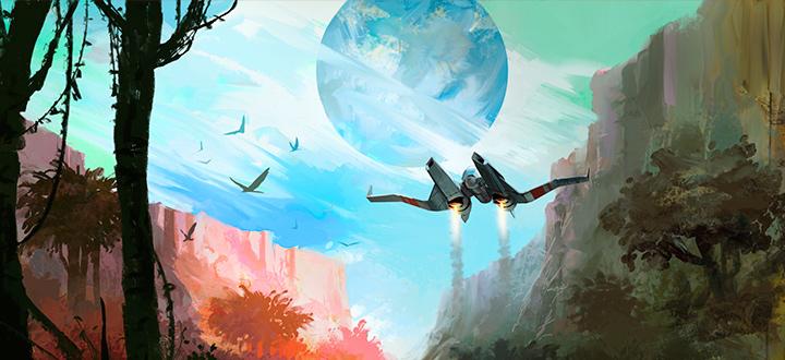 В сети появились геймплейные кадры релизной версии No Man's Sky. Разработчики просят игроков  не портить себе впечатления от игры и подождать релиза