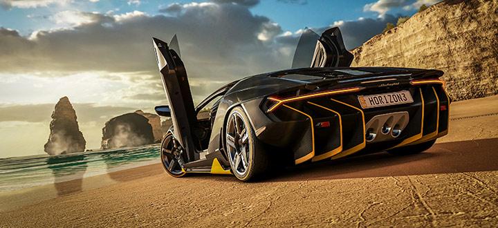 Forza Horizon 3: 4 минуты геймплея PC-версии в разрешении 4K