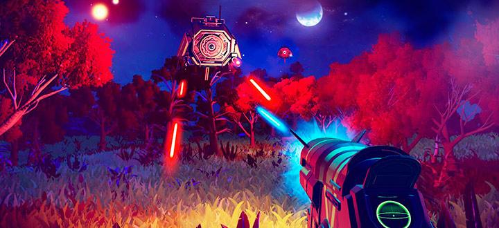 Два игрока встретились на одной планете в No Man's Sky, но не смогли увидеть друг друга