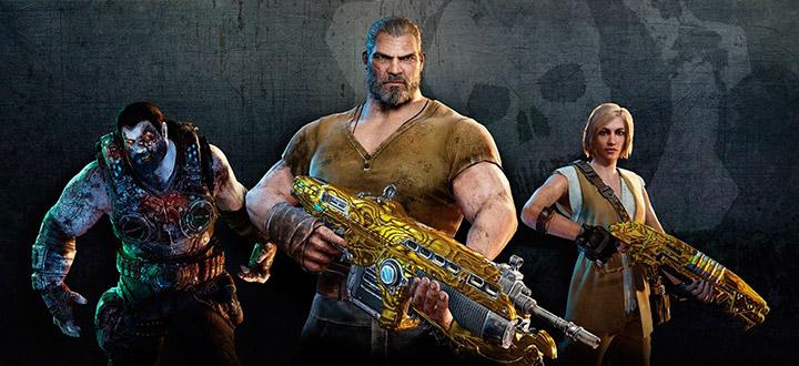Бонусы за предзаказ Gears of War 4 - Игроки получат бородатого Маркуса и его зомби-друга Доминика Сантьяго