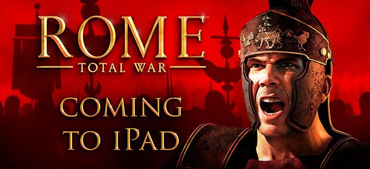 Стратегия Rome: Total War выйдет на iPad