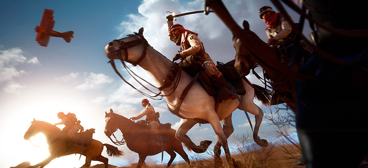 Разработчики из DICE объяснили, как будут работать лошади в мультиплеере Battlefield 1