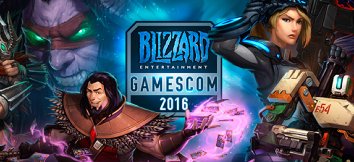 Пресс-конференция Blizzard на Gamescom 2016