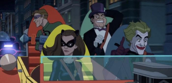 Трейлер анимационного фильма «Бэтмен: Возвращение крестоносцев в плаще»