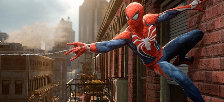 Sony показала первый геймплей Spider-Man на PS4 Pro