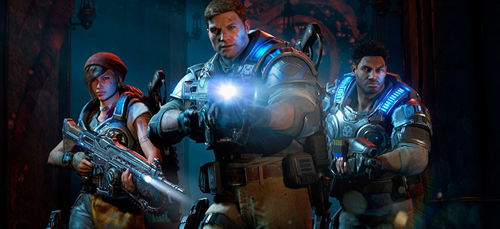 Релизный трейлер Gears of War 4