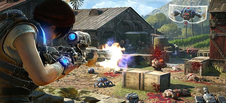 Скачать Gears of War 4 можно уже сейчас. Для владельцев Xbox One стартовала предзагрузка игры