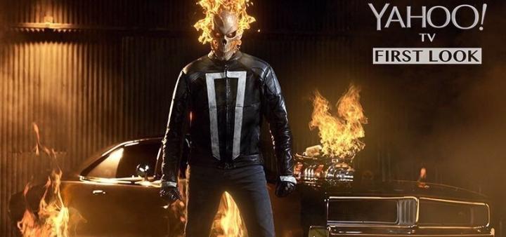 Первый взгляд на Призрачного Гонщика в сериале «Агенты «Щ.И.Т.»